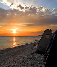 Butlers Beach camping