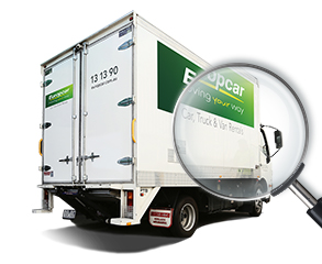 Explore Our Truck Van Ute Hire Products Europcar Australia